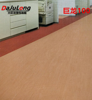 Big dragon PVC floor - directional homogenous and transparent floor