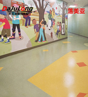 Big dragon PVC floor - homogeneity permeable floor roll